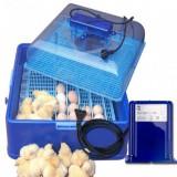 Incubadora AF50 CORTI con Volteador (50 Huevos)