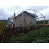 Estructura para Invernadero,almacen PARED RECTA