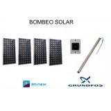 Sistema de Bombeo Solar de Agua Directo 5m3