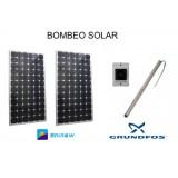 Sistema de Bombeo Solar de Agua Directo 12M3