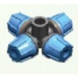 Nebulizador FLF, 4 Salidas, Conexión Cónica H, 5,40 L/h, Azul Claro, 10 Uds