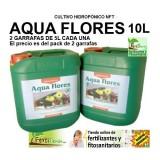AQUA Flores A&B de CANNA , 5L + 5L Fertilizante Hidroponia