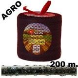 Manguera de Riego Exudante Poritex 200M por Gravedad (Malla Roja)