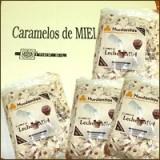 Caja 12  Bolsas Hurdanitos Crema de Leche y Miel Sin Azucar 500 Gramos(Peso Aprox 6 Klg)