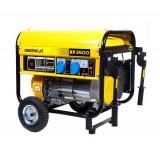 Generador Eléctrico de Gasolina 3.500 W Monofásica Arranque Manual