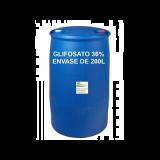 Herbicida Glifosato 36% , 200L