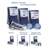 Clorador Salino Piscina Privada Idegis con Control de Ph Integrado y Contorl de Cloro Domotic D-12 Ph-Orp