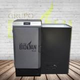 Caldera de Biomasa Policombustible + Leña GG35K Digital