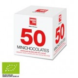 50 Mini Chocolates Chocolate Blanco
