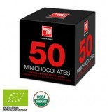50 Mini Chocolates Chocolate Negro