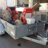 Remolque Transporte de Maquinaria