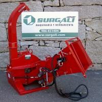 Biotrituradora Tractor con Alimentador Hidráulico