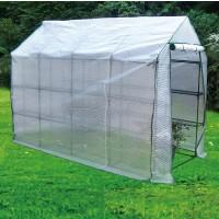 Invernadero con Estructura Acero Plastificada