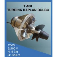 Turbina Kaplan Bulbo