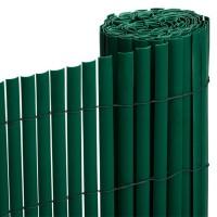 Cañizo PVC Verde Media Caña 1,5X3 M