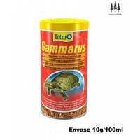 Comida Natural Deshidratada para Tortugas Gam