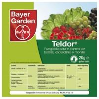Fungicida de Acción Preventiva contra Botritis, Monilia y Otros Bayer Teldor 20g