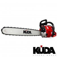 Motosierra Gasolina KUDA Espada de 45 con 3Cv y Cilindrada 52 Cc