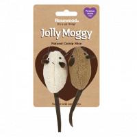 Rosewood Gato Jolly Moggy 2 Ratones Tela Catn