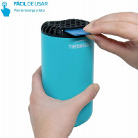Thermacell Difusor Anti Mosquitos Exteriores, Patio y Camping Mosquiteras, Azul