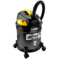 Aspiradora Lavor 4 en 1 Polvo,agua y Ceniza