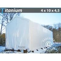 Carpa de Barco Titanium 4X10X3,5X4,5M, Blanco