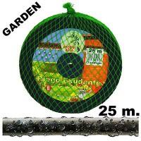 Manguera de Riego Exudante Poritex 25m por Presión (Malla Verde)