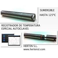 Registrador de Temperatura Sumergible Especial Autoclaves (125ºc)