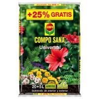 Sustrato Compo Sana Universal 20+5 L