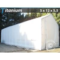Carpa de Barco Titanium 5X12X4,5X5,5M, Blanco