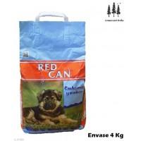 Comida Perros Cachorros y Madres Lactantes y Gestantes Red Can Saco Pienso 4 Kg