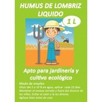 Humus de Lombriz Liquido 100%  Natural y Ecol