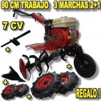 Motoazada Powerground 700 OHV 7CV + Kit Agrícola.  Envío Gratis !
