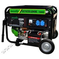 Generador Gasolina 7000 Trifasico Maqver con Arranque Electrico, Motor 15cv Valvulas en Cabeza
