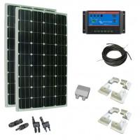 Kit Solar 300W Caravanas y Barcos