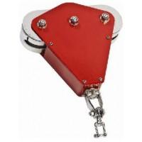 Tirolina Color Rojo Comercial con Asiento
