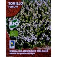 Tomillo. Cultivo Ecologico. Envase Hermético de 0,2 Gr / 250 Semillas
