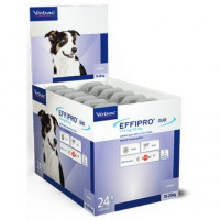 Effipro Spot On 24 Pipetas Antiparasitarias de 134 Mg para Perros Medianos