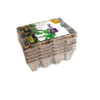 Semilleros Biodegradables Redondos 12 Cavidad