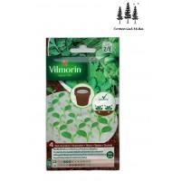 4 Discos Vilmorin 10cm de Diam. Aromaticas Albahaca/cilantro/cebolleta/perejil