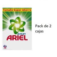 Ariel Original Detergente en Polvo Formato Ahorro 140 Lavados