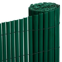 Cañizo PVC Verde Media Caña 2x3 M
