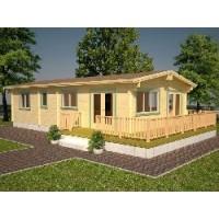 Casa de Madera Molly 3, (68,2M²)