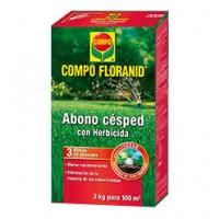 Compo Floranid Abono Césped + Herbicida de Compo
