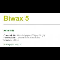 Biwax 5, Herbicida de Sipcam Iberia