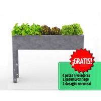 Mesa de Cultivo Parvus 70 Acero Galvanizado | Huerto Urbano