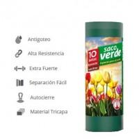 100 Sacos de Basura - Especial Jardín - 120 L