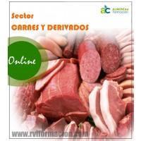 Carnet Manipulador Alimentos Online . Sector Empresas Cárnicas. Oficial .15€