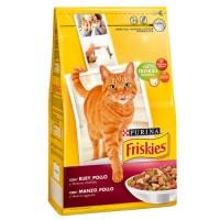 Pienso para Gatos Purina Friskies BUEY & Poll