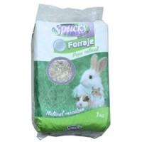 Heno Natural para Roedores y Conejos Spucky 1
